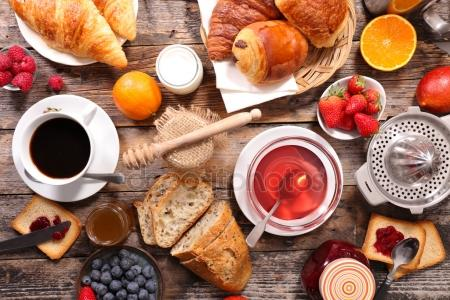 depositphotos 113196760 stock photo breakfast composition on table